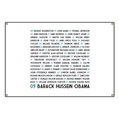 All Presidents up to Obama Banner