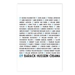 All Presidents up to Obama Postcards (Package of 8