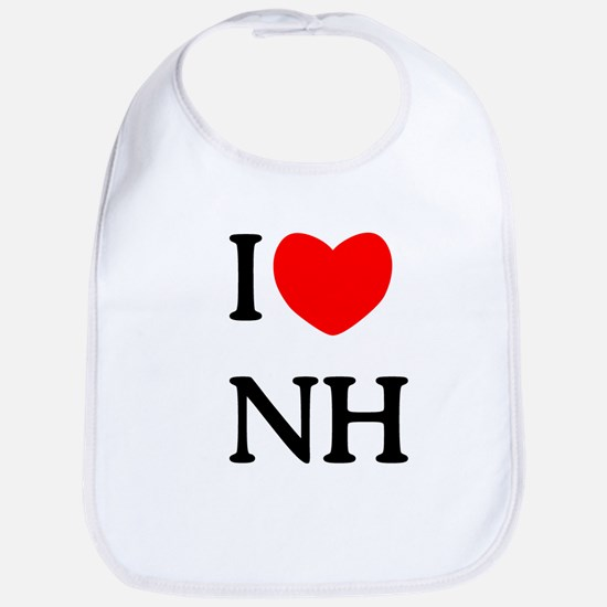 """I Love New Hampshire"" Bib"
