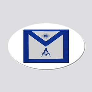 Masonic Junior Deacon Apron Wall Decal