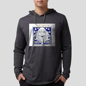 Aquarius1 Hooded Long Sleeve T-Shirt
