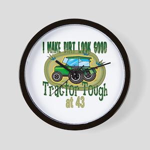Tractor Tough 43rd Wall Clock