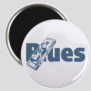 Harmonica Blues Magnet