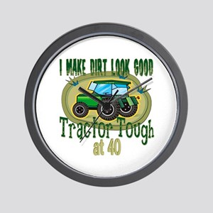 Tractor Tough 40th Wall Clock