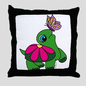 Lil' Turtle Throw Pillow