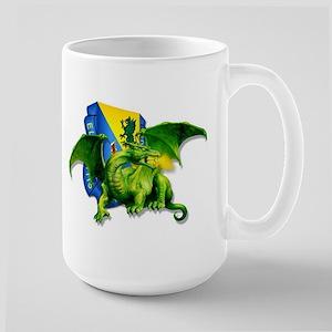 Dragon Soldier Large Mug