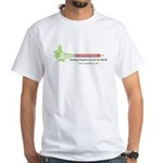 CE-Lery single-pencil white T-shirt