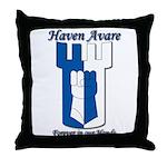 Haven Avare Throw Pillow