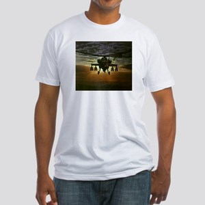 AH-64 Apache Fitted T-Shirt