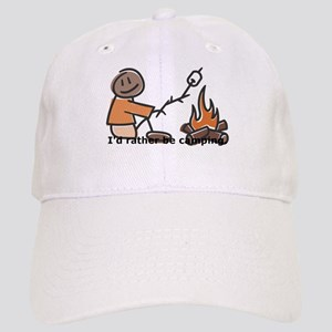 Campfire Rather be camping Cap