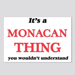 It's a Monacan thing, Postcards (Package of 8)