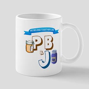 TOGETHER LIKE PB & J Mugs