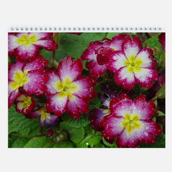 Floral Photography Wall Calendar