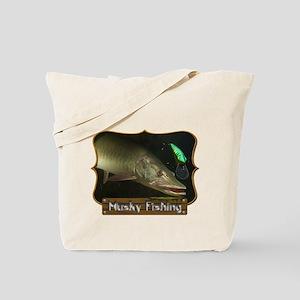 Musky Fishing 1 Tote Bag