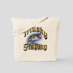 Musky Fishing 2 Tote Bag