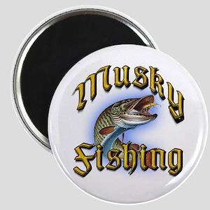 Musky Fishing 2 Magnet