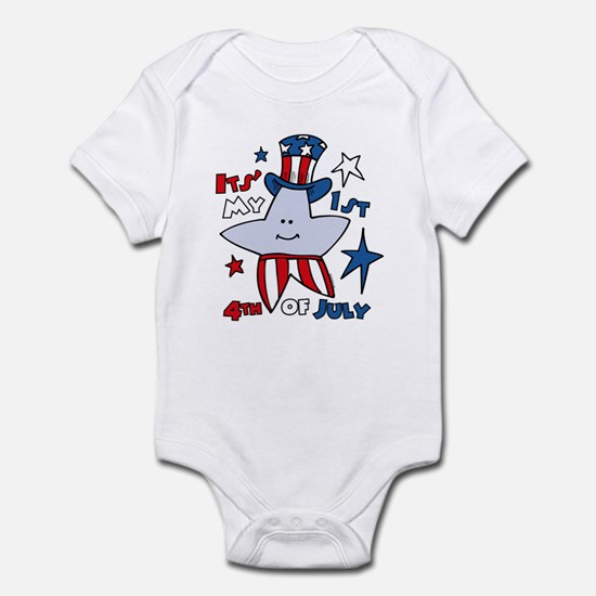 My First Fourth Star Infant Bodysuit