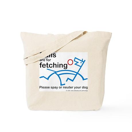 Fetching balls Tote Bag