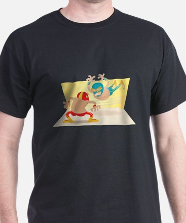 Mexican Wrestling! T-Shirt