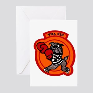 VMA 223 Bulldogs Greeting Cards (Pk of 10)