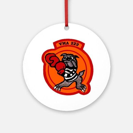 VMA 223 Bulldogs Ornament (Round)