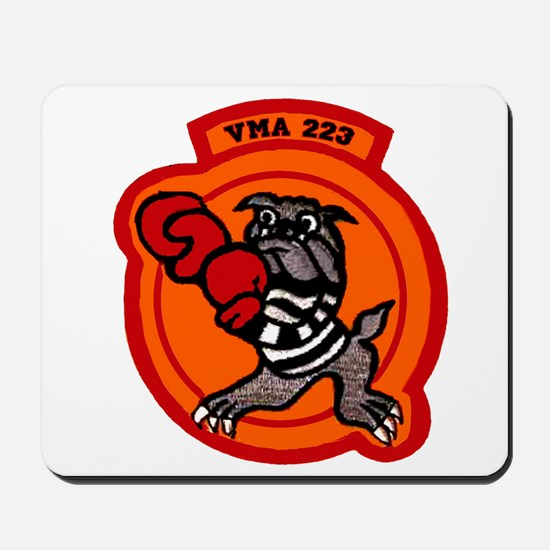 VMA 223 Bulldogs Mousepad