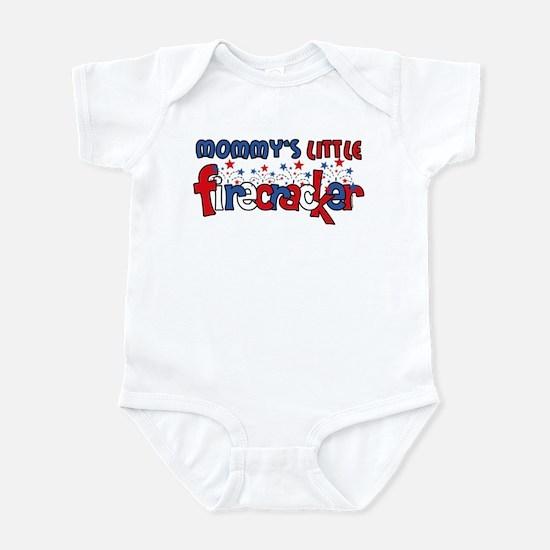 Mommy's Little Firecracker Infant Bodysuit