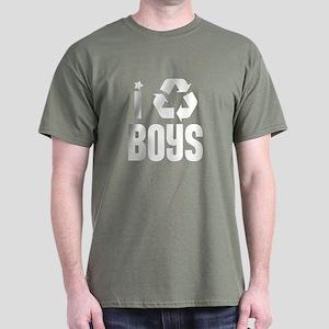 I RECYCLE Boys Dark T-Shirt