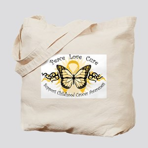 CC Butterfly Tribal Tote Bag