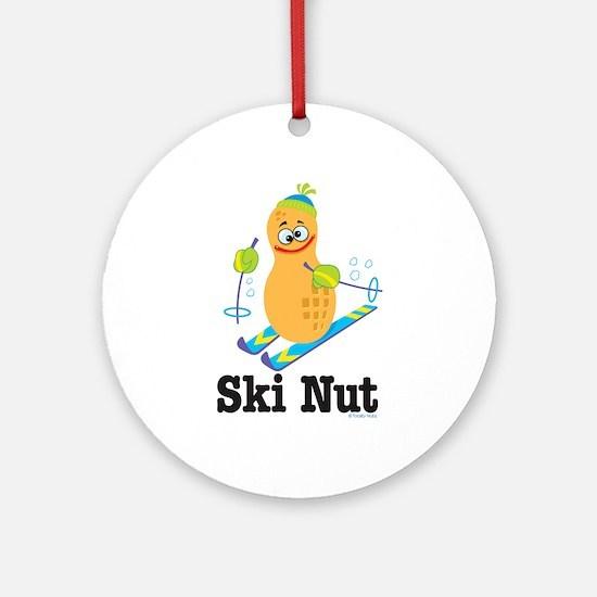 Ski Nut Keepsake (Round)