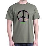 Zen Peace Symbol Dark T-Shirt