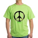 Zen Peace Symbol Green T-Shirt