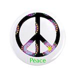 """Zen Peace Symbol 3.5"""" Button (100 pack)"""