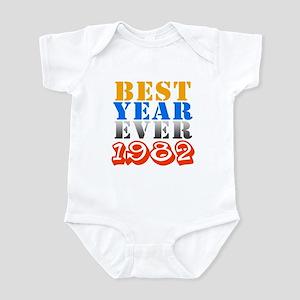 Best year ever 1982 Infant Bodysuit