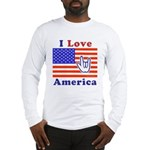 ILY America Flag Long Sleeve T-Shirt