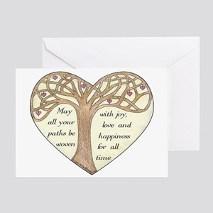 Blessing Tree Greeting Card