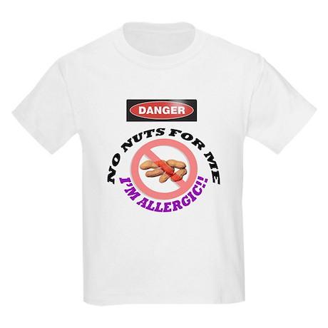 peanut allergy Kids Light T-Shirt