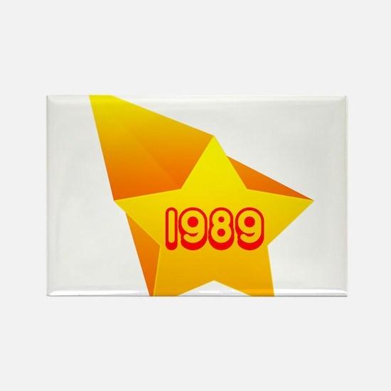 All Star 1989 Rectangle Magnet