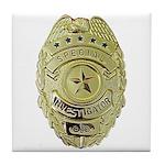 Special Investigator Tile Coaster