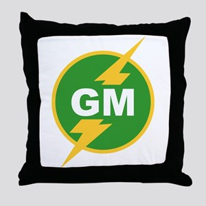 GM Groomsman Throw Pillow