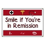 Smile if you're in Remission Banner