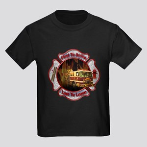 FireFighter Kids Dark T-Shirt