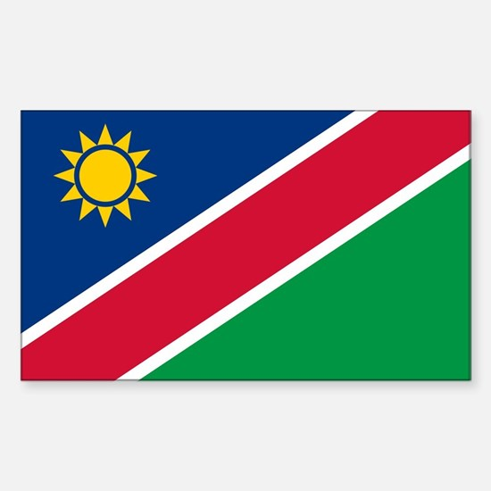 Flag of Namibia Sticker (Rectangle)