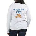 Best Friend (Cat) Women's Long Sleeve T-Shirt