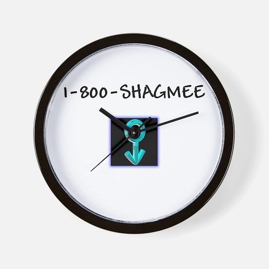 Men's Shag Me Wall Clock