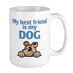 Best Friend (Dog) Large Mug