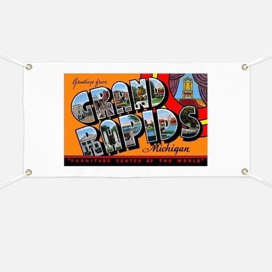 Grand Rapids Michigan Greetin Banner