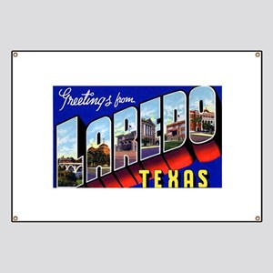Laredo Texas Greeings Banner