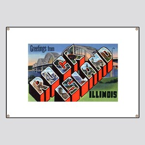 Rock Island Illinois Greeting Banner