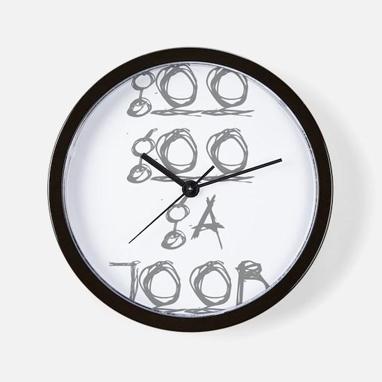 Goo Goo Ga Joob Wall Clock